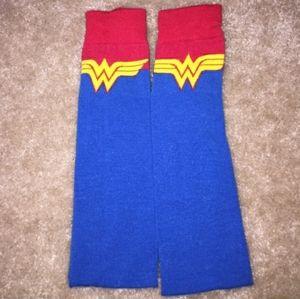 Wonder Woman Thigh High Socks